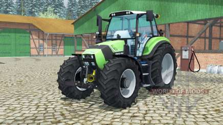 Deutz-Fahr Agrotron TTV 430 MoreRealistic для Farming Simulator 2013
