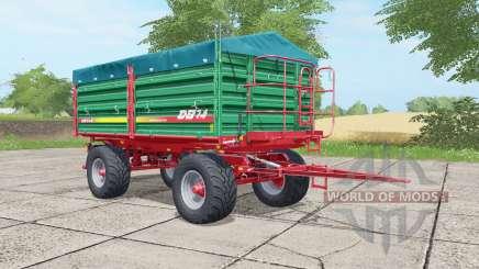 Metaltech DB 14 munsell green для Farming Simulator 2017