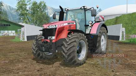 Massey Ferguson 8737 wheels shader для Farming Simulator 2015