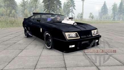 Ford Falcon GT Pursuit Special V8 Interceptor для Spin Tires