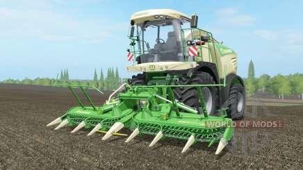 Krone BiG X 580 long ꝓipe для Farming Simulator 2017