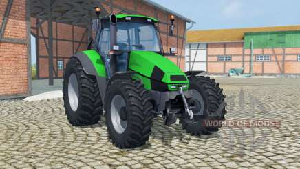 Deutz-Fahr Agrotron 120 Mk3 vivid malachite для Farming Simulator 2013