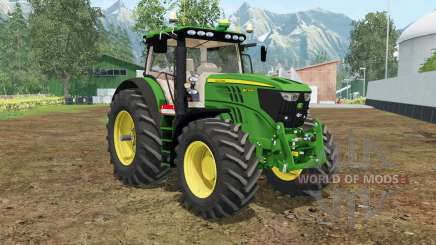John Deere 6210R north texas green для Farming Simulator 2015