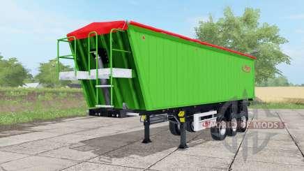 Fliegl DHKA vivid malachite для Farming Simulator 2017