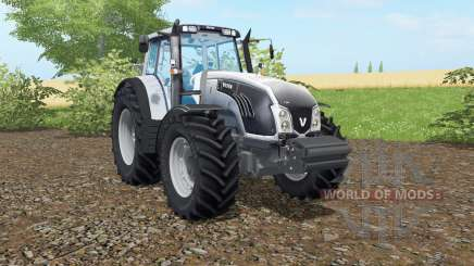Valtra T163 columbia blue для Farming Simulator 2017