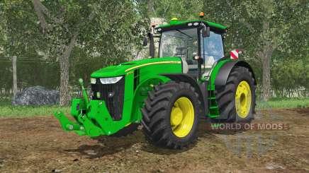 John Deere 7290R&8370R IC control для Farming Simulator 2015