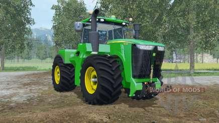 John Deere 9620R fronthydraulic для Farming Simulator 2015