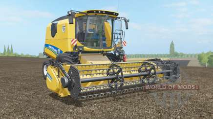 New Holland TC4.90 & Varifeed 18FT для Farming Simulator 2017