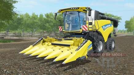 New Holland CR6.90 ripe lemon для Farming Simulator 2017