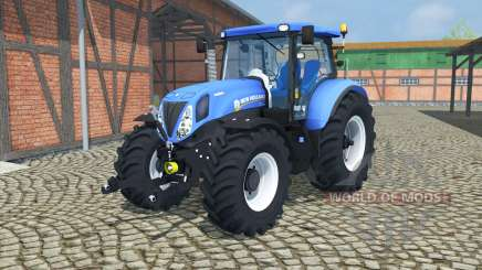 New Holland T7.210 change wheels для Farming Simulator 2013