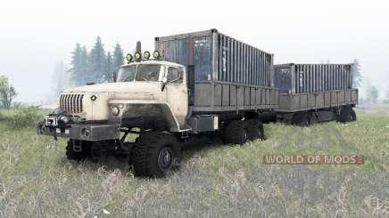 Урал-4320-1912-40 v1.4 для Spin Tires