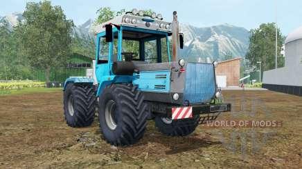 ХТЗ-17021 голубой окрас для Farming Simulator 2015