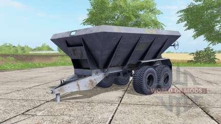 МВУ-8Б серовато-синий окрас для Farming Simulator 2017
