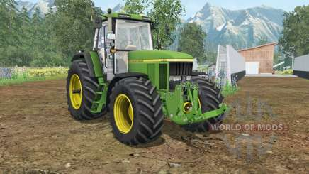 John Deere 7710&7810 wheels shader для Farming Simulator 2015