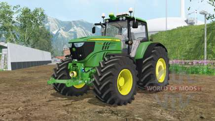 John Deere 6170M wheels weights для Farming Simulator 2015