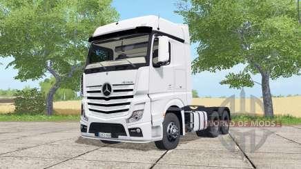 Mercedes-Benz Actros LS BigSpace (MP4) для Farming Simulator 2017