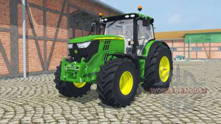 John Deere 6170R&6210R manual ignition для Farming Simulator 2013