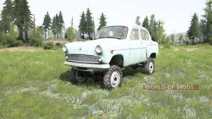 Москвич-410Н 1958 для MudRunner
