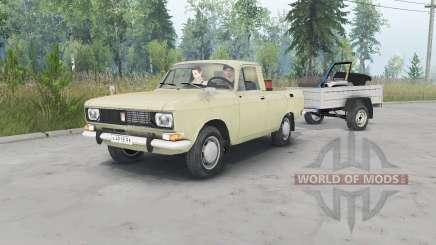 Москвич-2315 бежевый окрас для Spin Tires