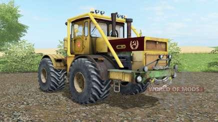 Кировец К-700А  мягко-жёлтый окрас для Farming Simulator 2017