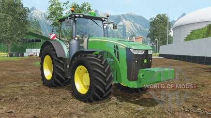 John Deere 8370R wheels shader для Farming Simulator 2015