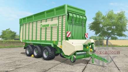 Krone ZX 550 GD malachite для Farming Simulator 2017