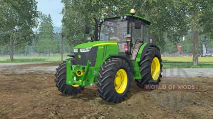 John Deere 5M-series для Farming Simulator 2015