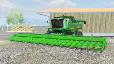 John Deere 9770 STS dual front wheels для Farming Simulator 2013