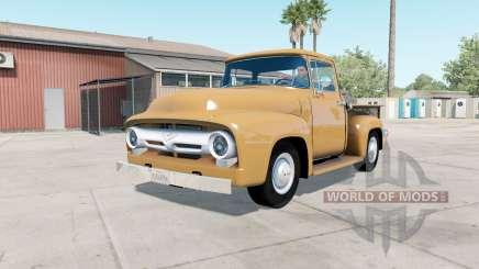 Ford F-100 Custom Cab 1956 v1.2 для American Truck Simulator