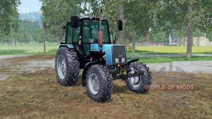 МТЗ-1025 Беларус голубой окрас для Farming Simulator 2015