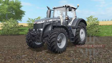 Massey Ferguson 8727-8737 Black Edition для Farming Simulator 2017