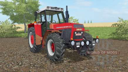 Zetor 16145 light brilliant red для Farming Simulator 2017