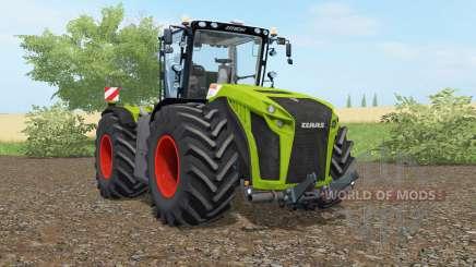 Claas Xerion 5000 Trac VC apple green для Farming Simulator 2017