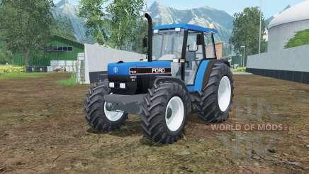 Ford 7840 rich electric blue для Farming Simulator 2015