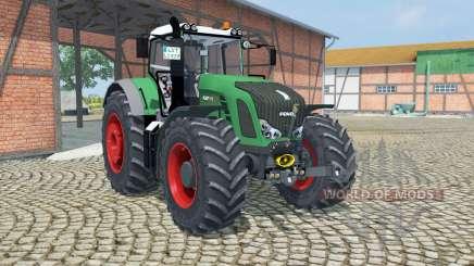 Fendt 939 Vario munsell green для Farming Simulator 2013