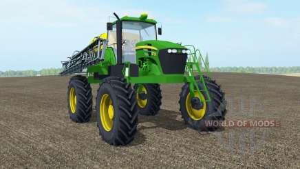 John Deere 4730 islamic green для Farming Simulator 2017