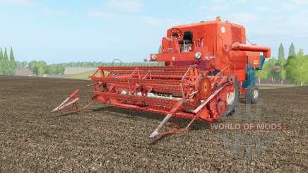 Bizon Super Z056 mojo для Farming Simulator 2017