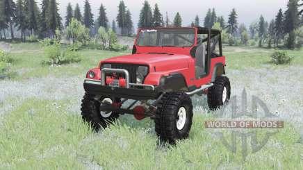 Jeep Wrangler (YJ) 1989 для Spin Tires