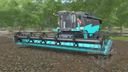 Torum 760 бирюзовый окрас для Farming Simulator 2017
