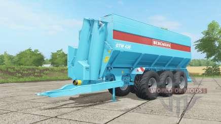Bergmann GTW 430 ᶆulticolor для Farming Simulator 2017