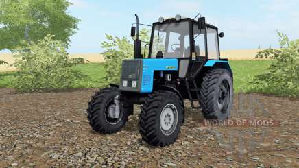 МТЗ-1021 Беларус голубой окрас для Farming Simulator 2017
