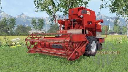 Fahr M66 twin wheels для Farming Simulator 2015