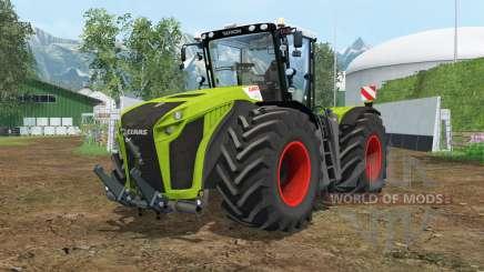 Claas Xerion 5000 Trac VC wheel shader для Farming Simulator 2015