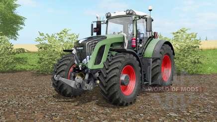 Fendt 936 Vario wheel options для Farming Simulator 2017