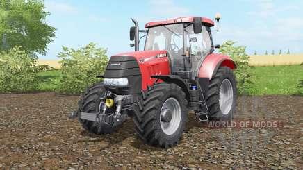Case IH Puma 160 CVX deep carmine pink для Farming Simulator 2017