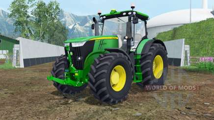 John Deere 7270R islamic green для Farming Simulator 2015