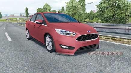 Ford Focus sedan (DYB) 2015 для Euro Truck Simulator 2