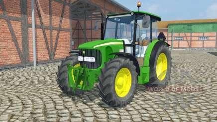 John Deere 5100R  front loader для Farming Simulator 2013