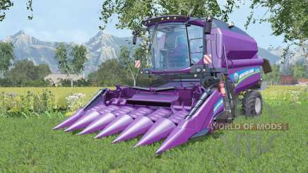New Holland TC5.90 with two cutters для Farming Simulator 2015