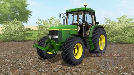 John Deere 6810 north texas green для Farming Simulator 2017